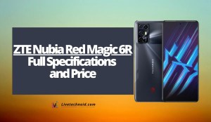 ZTE Nubia Red Magic 6R Full Specifications and Price