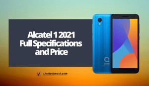 Alcatel 1 2021 Full Specifications and Price
