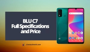 BLU C7 Full Specifications and Price