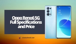 Oppo Reno6 5G Full Specifications and Price