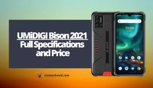 UMiDIGI Bison 2021 Full Specifications and Price