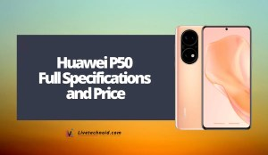 Huawei P50 Full Specifications and Price