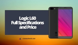 Logic L60 Full Specifications and Price