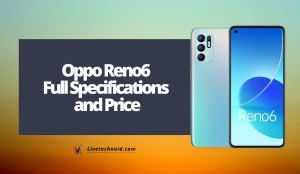 Oppo Reno6 Full Specifications and Price
