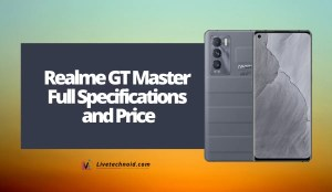 Realme GT Master Full Specifications and Price