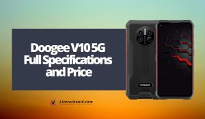 Doogee V10 5G Full Specifications and Price