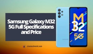 Samsung Galaxy M32 5G Full Specifications and Price