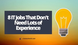 8 IT Jobs That Don't Need Lots of Experience