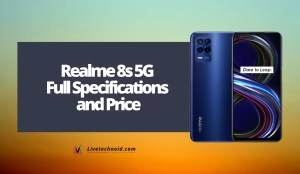 Realme 8s 5G Full Specifications and Price