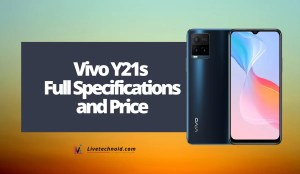 Vivo Y21s Full Specifications and Price