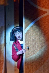 Victoria Bewick as Jill in Cooking with Elvis by Lee Hall. Photo Keith Pattison