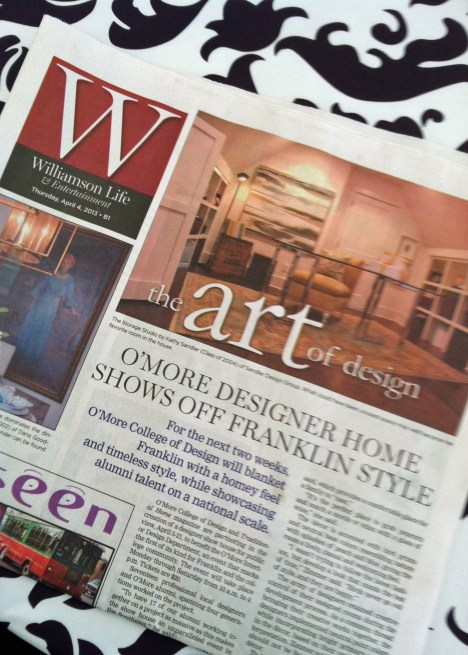 Anatomy of a Show House, 2014 O'More Designer Show House, Presented by Traditional Home – Live the Fine Life