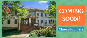 Clarendon Park Townhome Coming Soon