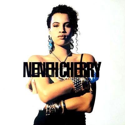 Skivomslag med Neneh Cherry.