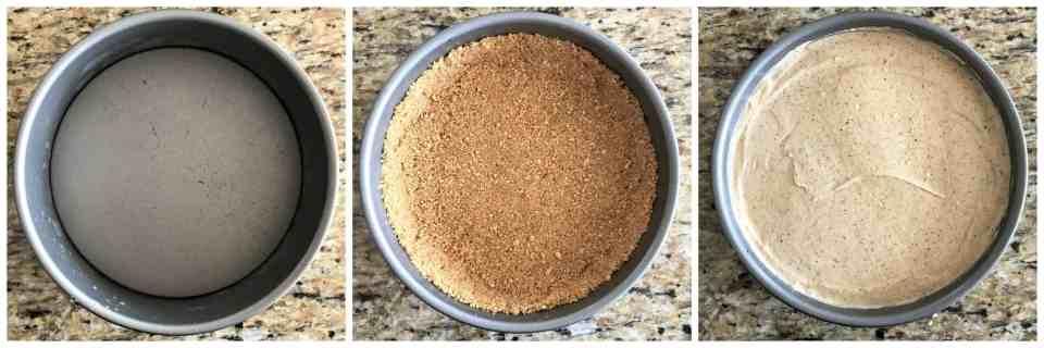 Honey Almond Butter Cheesecake