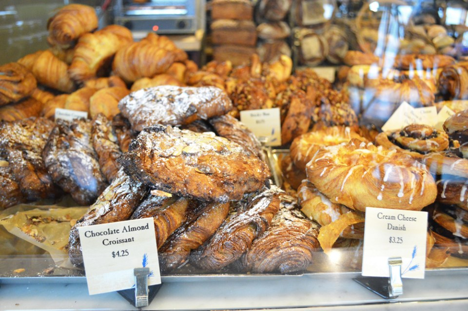 Danishes and Croissant at Seven Stars Bakery & Cafe Hope Street Providence RI