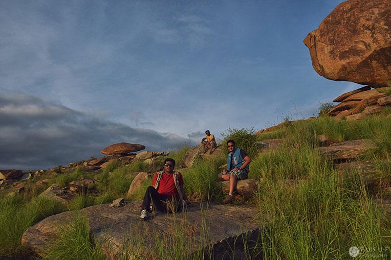 boulders-basking