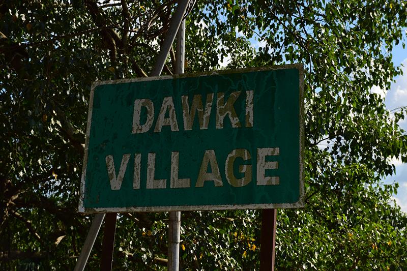 Dawki village