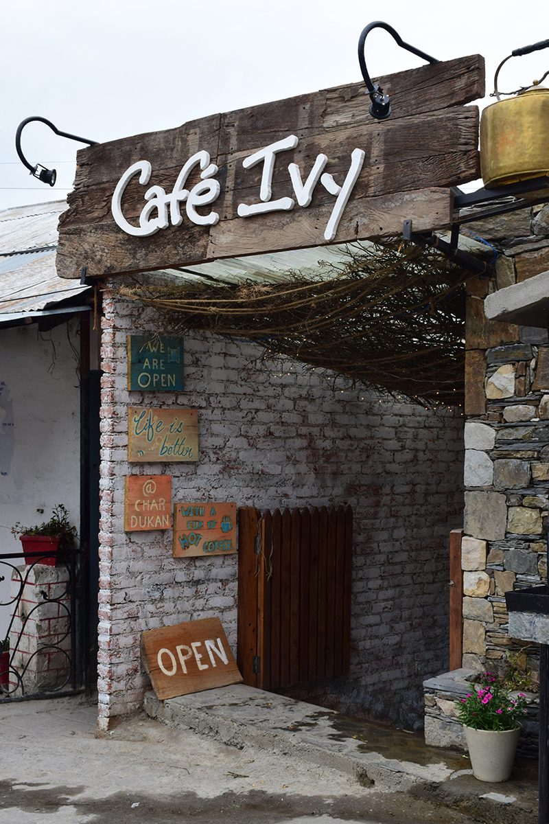 Cafe Ivy @ Mussoorie