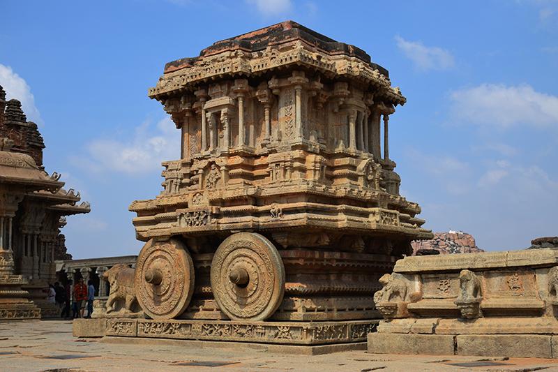 Iconic Stone Chariot