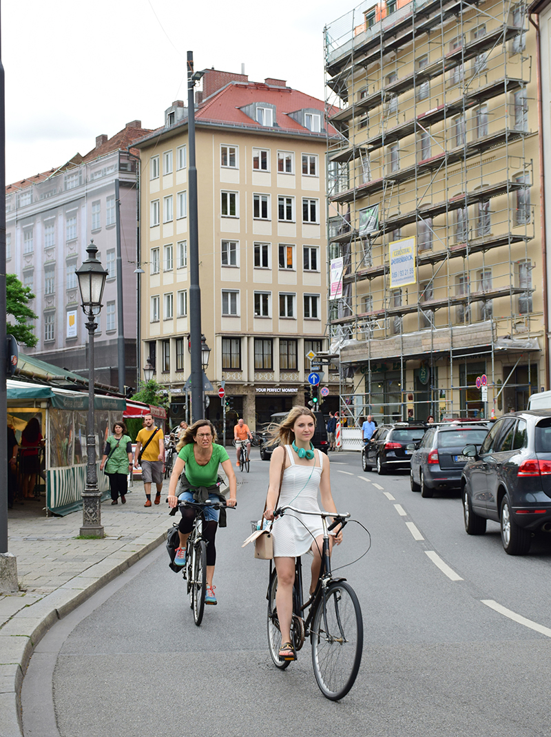 Munich has beautiful streets ;)
