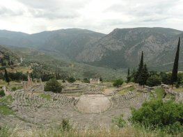 Theater of Dionysus, Delphi