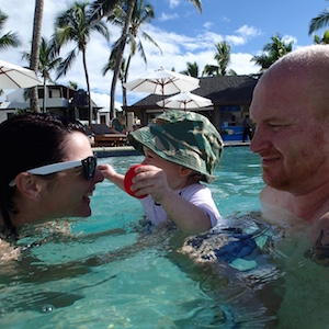 Pool time – Denaru, Fiji