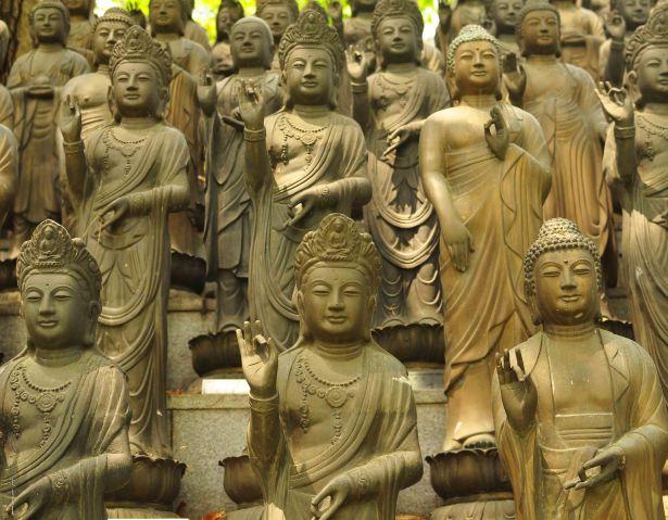 Bukhansan Buddhas