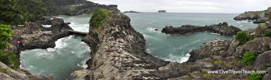 Hwanguji Rock Pools