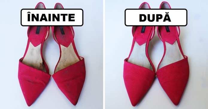 Am încercat 7 trucuri populare pentru a salva pantofii , și aici sunt rezultatele