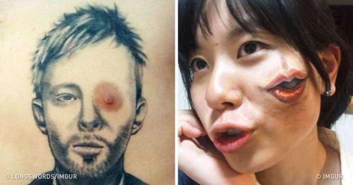 24 de tatuaje nereusite care i-au făcut pe proprietari să plângă cand le-au vazut