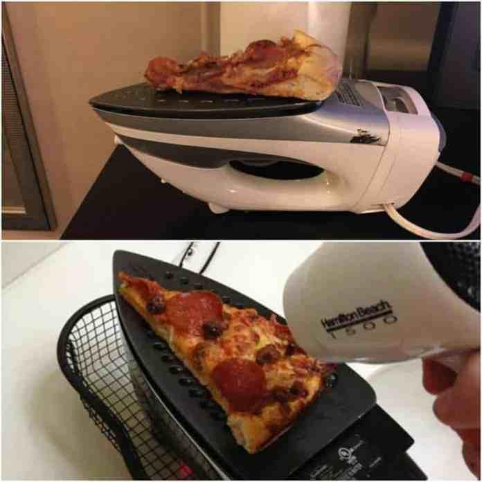 Orice îți încălzește pizza