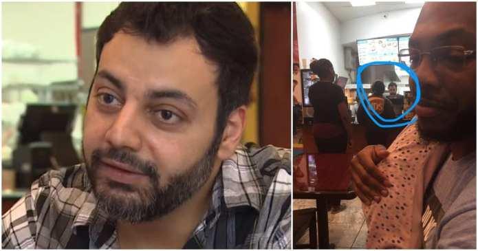 Managerul unui restaurant plăteşte pentru alimentația unei femei şi a nepoatei acesteia. Un om de milioane!