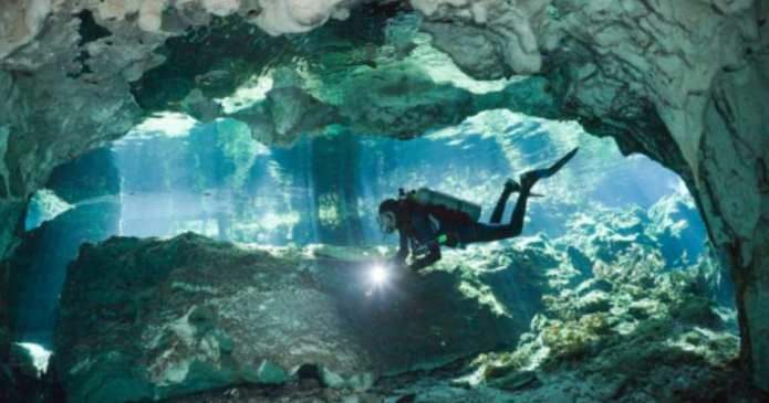 Scafandri găsesc cea mai mare peșteră subacvatică din lume unde descoperă secrete minunate ale vieții și culturii Maya