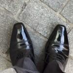 営業なら靴をキレイに!有楽町の千葉スペシャルが凄すぎる-磨き後-@livett1