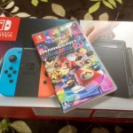 緊急入荷!NINTENDO SWITCHがトイザらスにあったから買ってみた!-Nintendo Switch本体とマリオカート8-@livett1