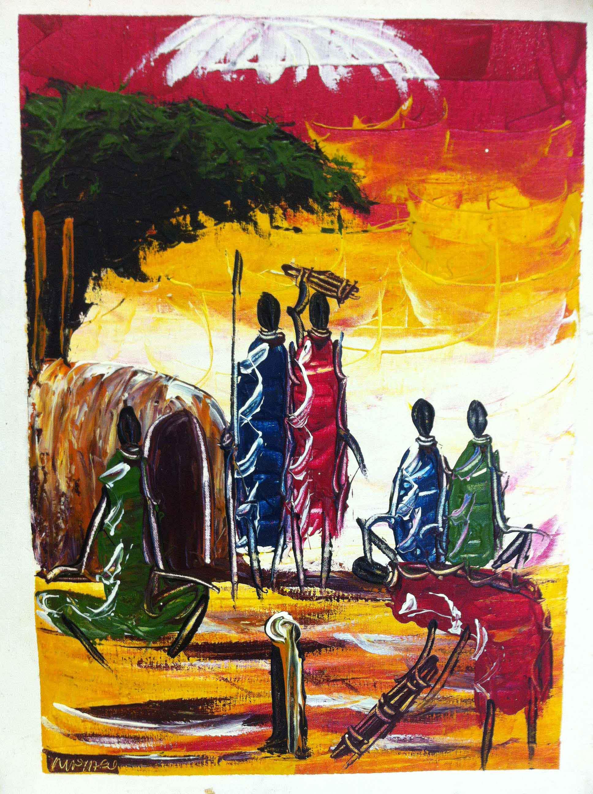 Kenyan PaintingsLiveTwice