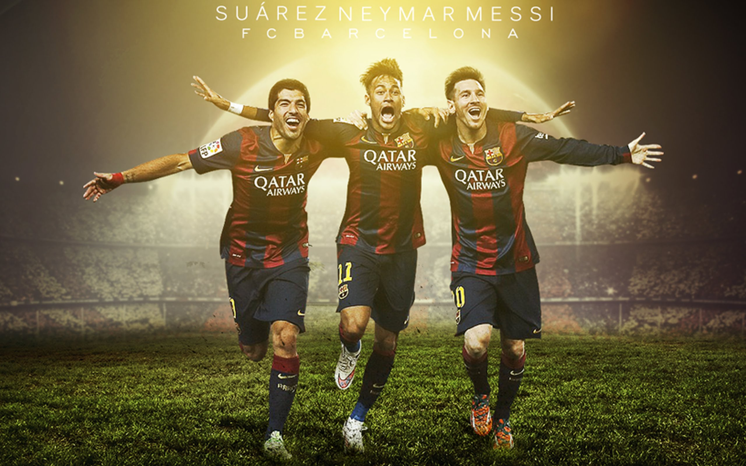 messi neymar suarez wallpaper 2021
