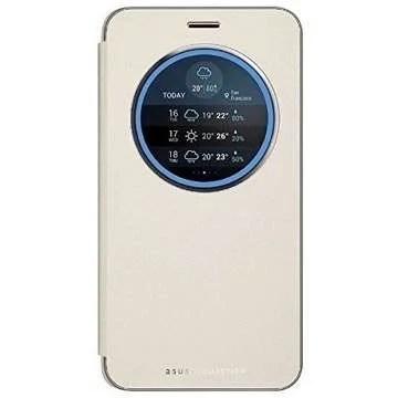 Zenfone3 Laser窓付き純正ケース ゴールド