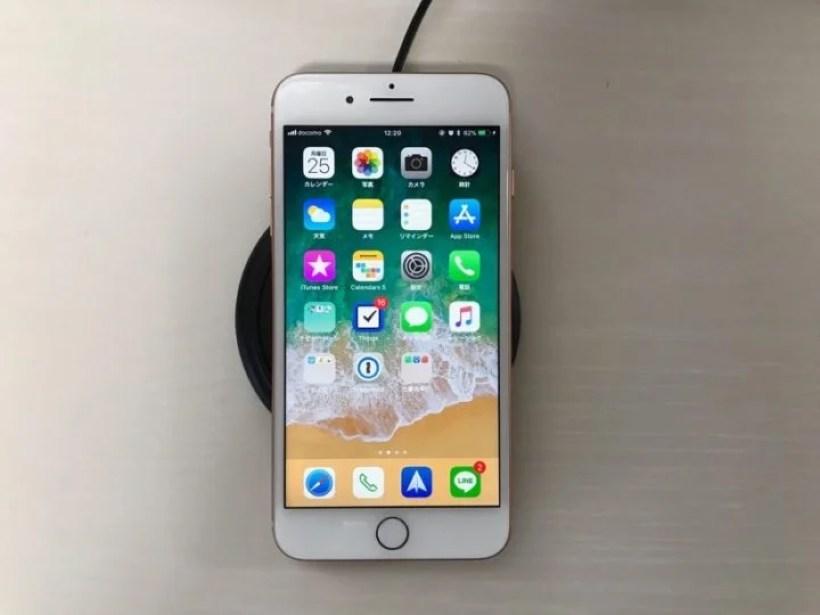 iPhone 8 Plus ワイヤレス充電