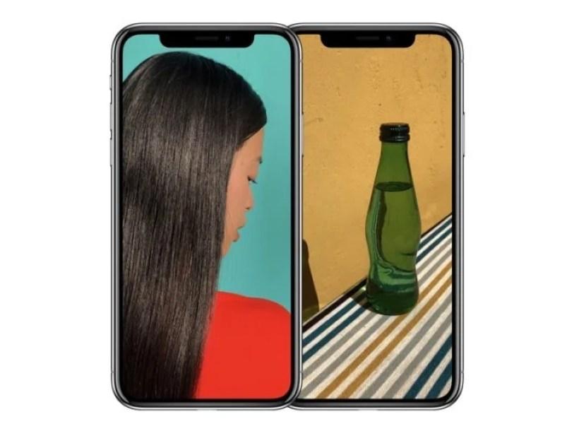 iPhone X フルスクリーン