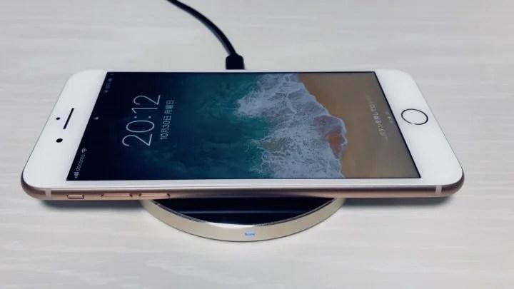 【レビュー】アルミデザインがおしゃれなSatechiのQiワイヤレス充電器