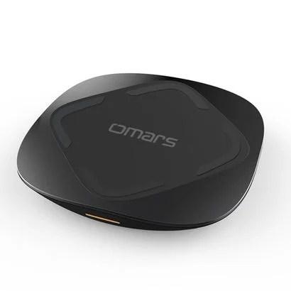 【Omars】コスパがいい高速ワイヤレス充電対応の充電器