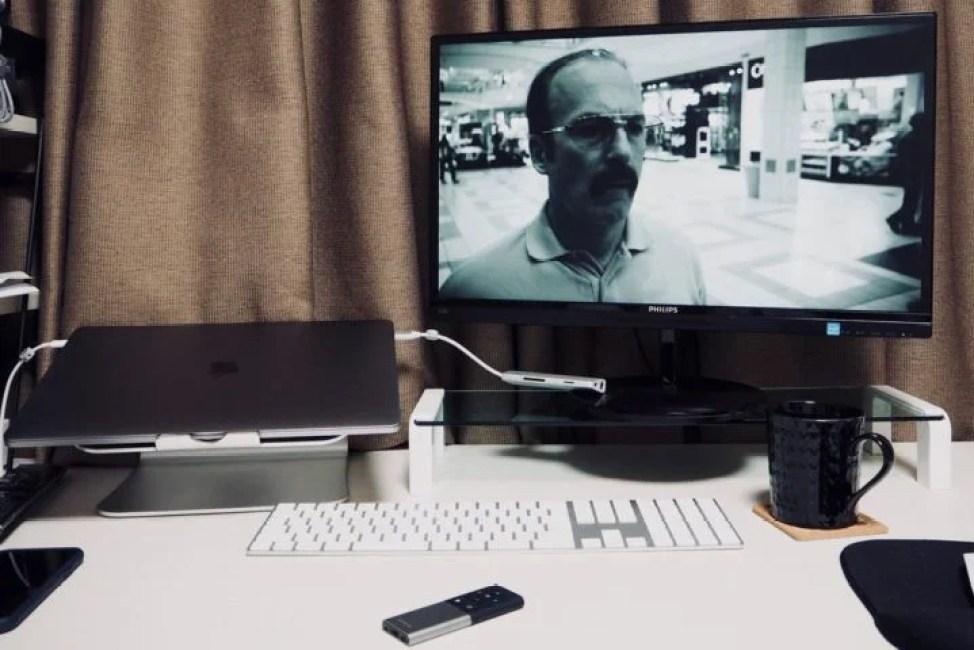 Mac-SatechiメディアリモコンでNetflix