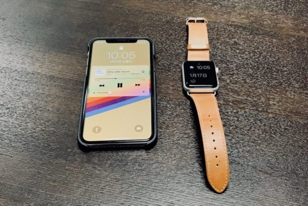 Apple WatchとiPhone X