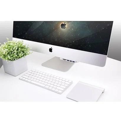 Cateck iMac本体に固定できる専用USBハブ