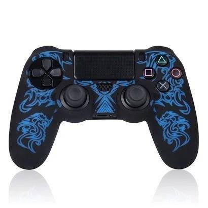 PS4 コントローラー用 シリコン製スキンカバー