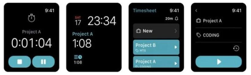 TimeSheet(Apple Watch)