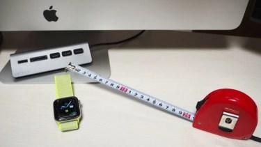 Apple WatchでMacのロック解除、ロック解除できてしまう距離を測ってみた
