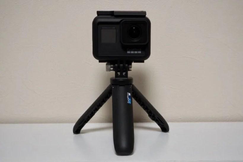 GoPro ショーティの三脚スタイル